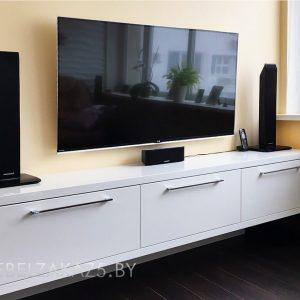 Тумба под телевизор в стиле хай тек