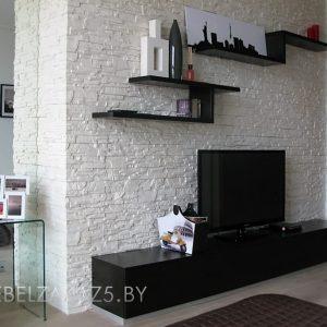 Тумба под телевизор черного цвета