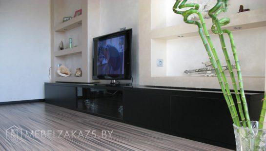 Тумба под телевизор цвет венге