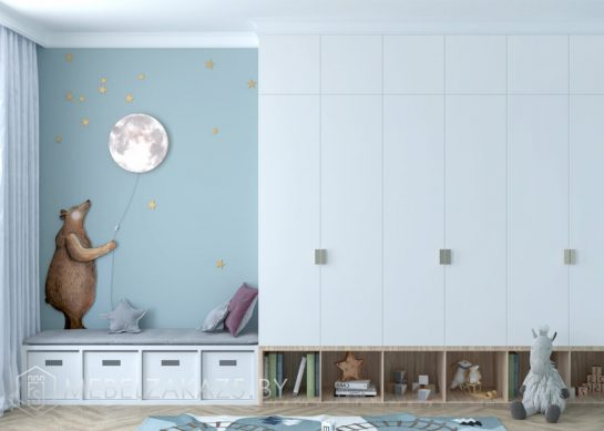 Распашной шкаф в детскую